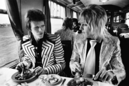 David Bowie and Mick Ronson (Copyright Mick Rock-Courtesy Govinda Gallery)