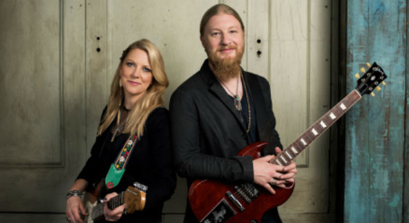 Susan Tedeschi and husband Derek Trucks (photo courtesy TTB)