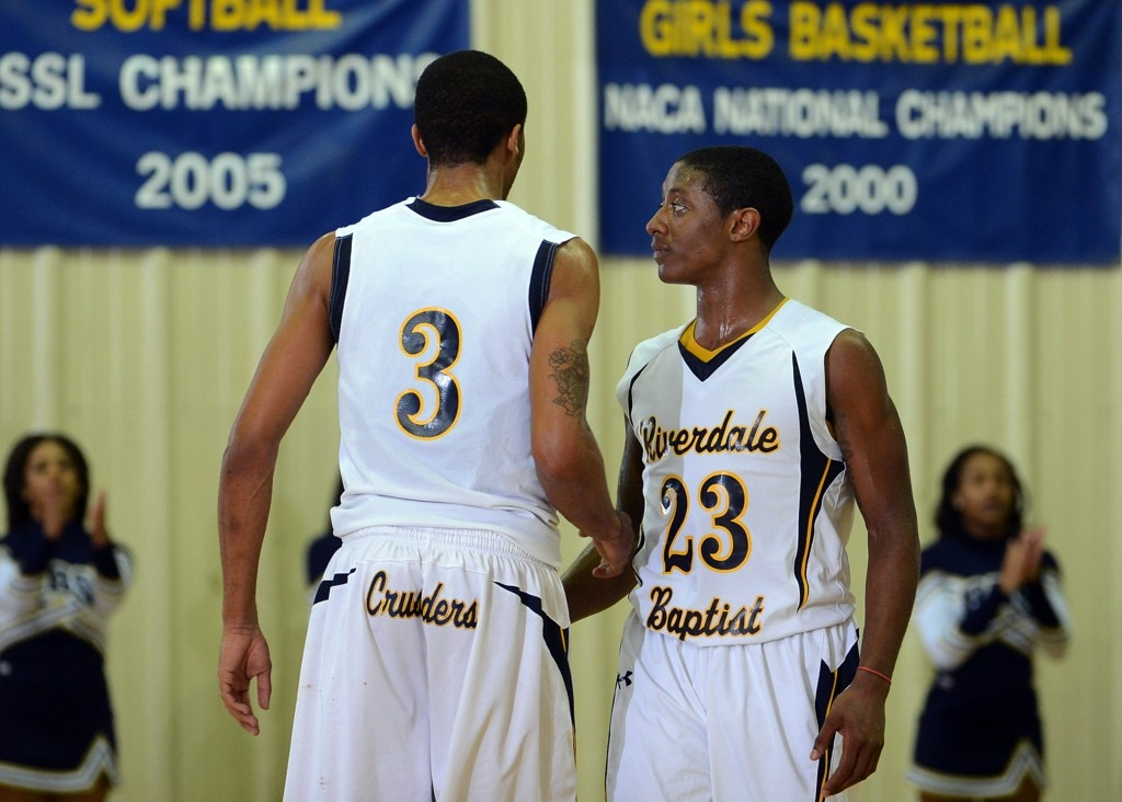 Riverdale Baptist senior guard Nigel Johnson committed to Kansas State on Saturday just weeks after decommitting from George Washington and re-opening his recruitment (Toni L. Sandys/The Washington Post)