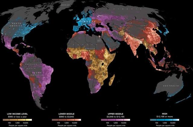 Data source: Oak Ridge National Laboratory, World Bank. (David Whitmore, John Grimwade / National Geographic)