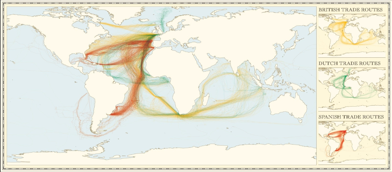 Data source: Climatological Database for the World's Oceans (James Cheshire)