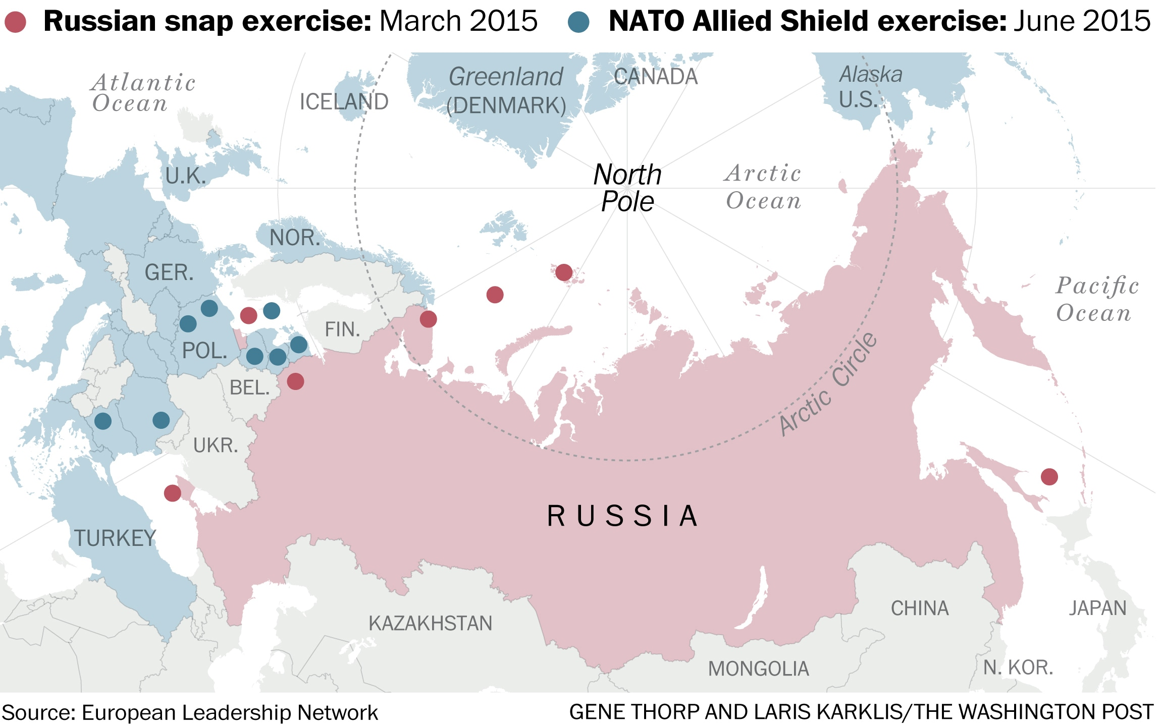 3 Maps That Show How Russia And Nato Might Accidentally Escalate Into War