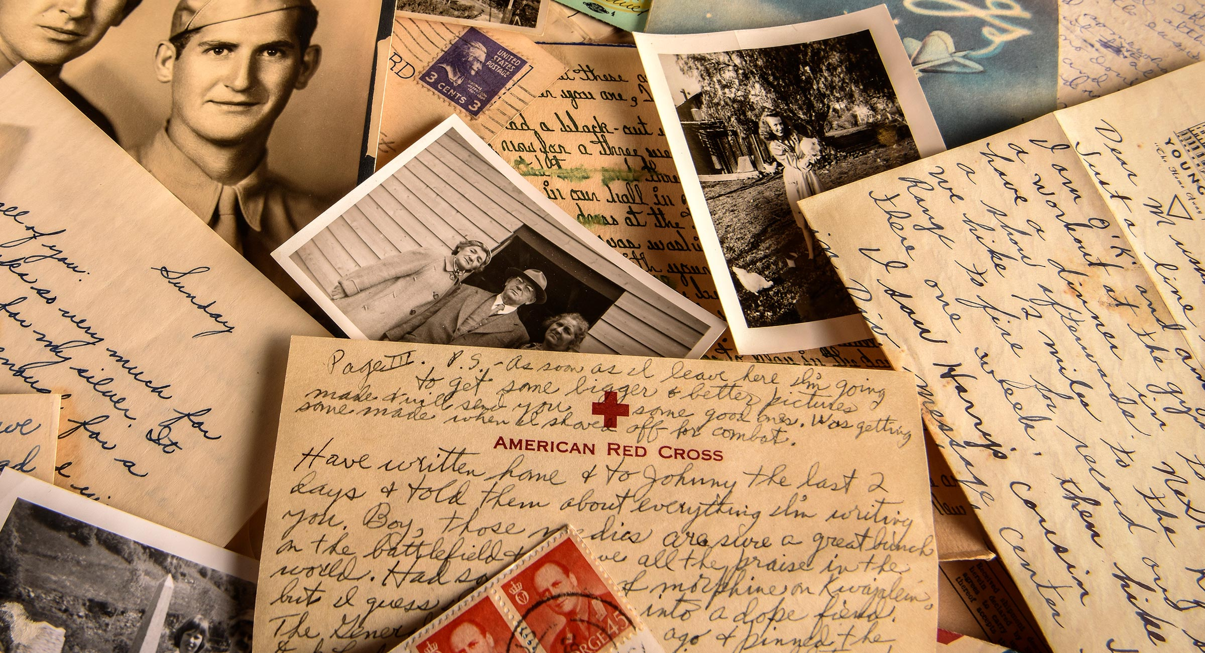 Letters From World War Ii The Abandoned History Of Four