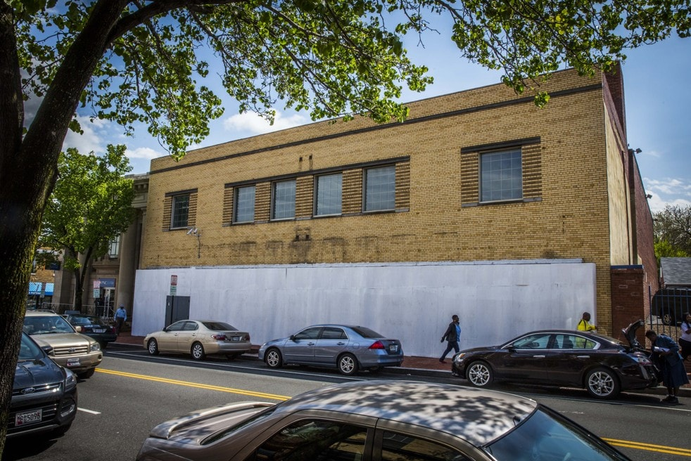 The former furniture store, on Martin Luther King, will be renovated into a restaurant and office space (Jeffrey MacMillan - Capital Business)