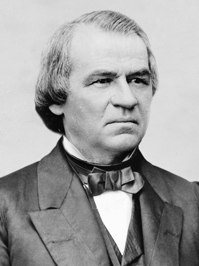 Andrew Johnson - a vice president whose ascension to the presidency may have had a major impact on history.