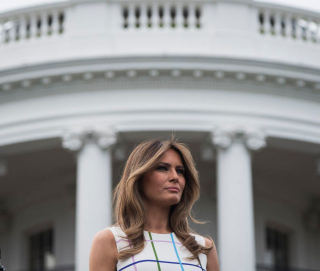 According To Several White House Staff Members First Lady Melania Trump Has Erected A De Facto Wall Between The East Wing Where She Is Renovating Her