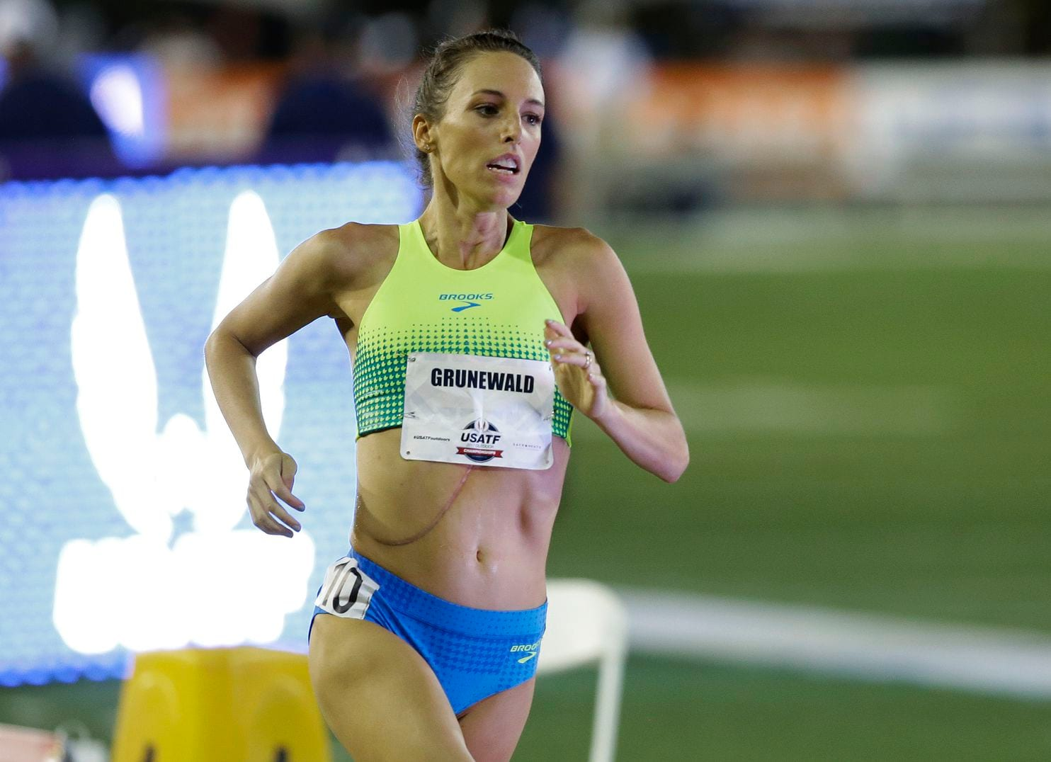 Gabriele Grunewald Shown Running In The 1500 Meter Race In 2017 Is In Comfort Care Rich Pedroncelli Associated Press