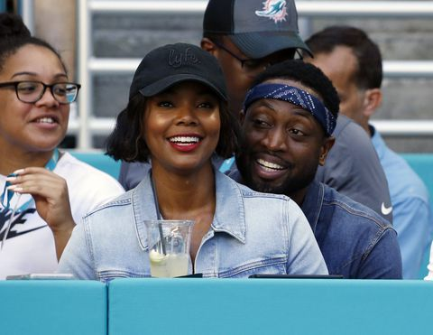 W37EQNHDUUI6RORQU7PNATMPVQ - Dwyane Wade and Gabrielle Union celebrate 'miracle baby'