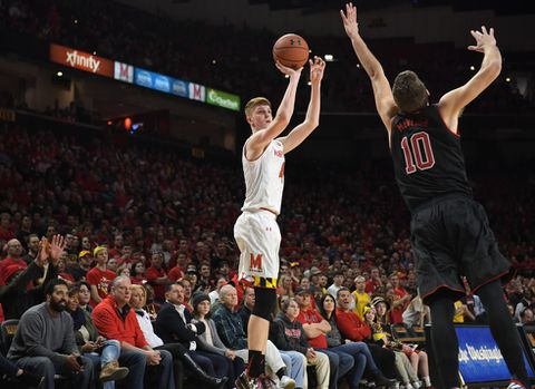 COB46YOKYE6SVMYP7OJVTQ63MY - Kevin Huerter expected to return to Maryland. Now he's a surefire first-round NBA draft pick.