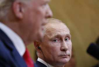 Analysis | Standing beside Trump, Putin makes a clear reference to the subject of the 2016 Trump Tower meeting