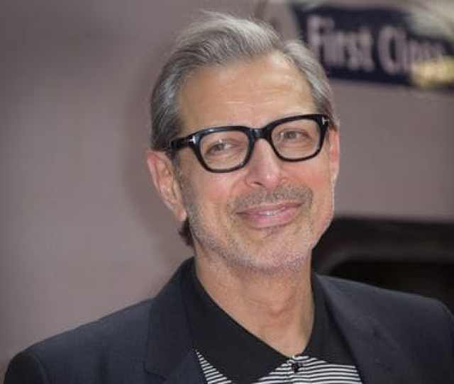 Jeff Goldblum Poses For Photographers At Euston Station In London In June  Joel Ryan Invision Ap