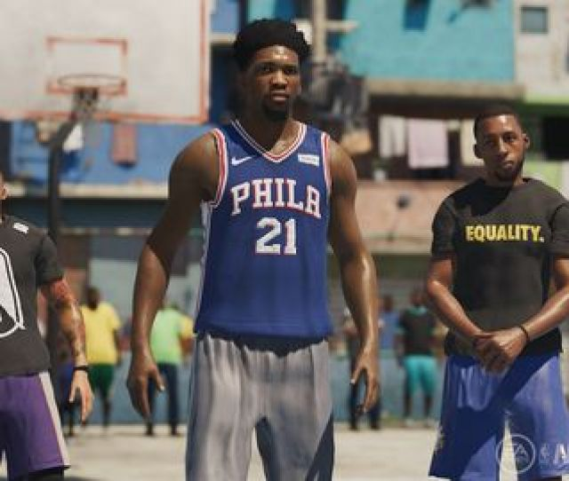 Screen Shot From Nba Live 19 Courtesy Ea Sports