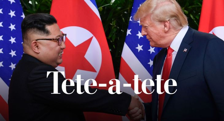 (Susan Walsh/AP) President Trump and North Korea's Kim Jong Un are due to meet in Vietnam next week for their second summit on denuclearization.