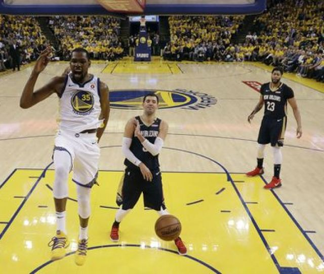 Kevin Durant And The Warriors Cruised Past New Orleans   To Advance To A Western Conference Finals Showdown With Houston Which Eliminated Utah