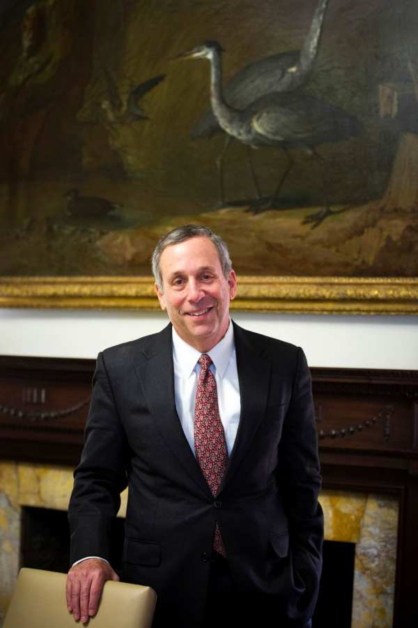 Harvard names former Tufts leader Lawrence Bacow as ...