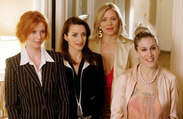 From Left Cynthia Nixon Kristin Davis Kim Cattrall And Sarah Jessica Parker In Sex And The City Craig Blankenhorn Hbo Ap