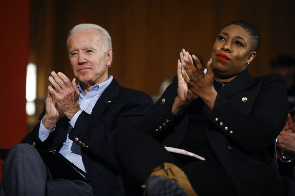 Symone Sanders, Biden's top African American aide, faces pressure from all sides