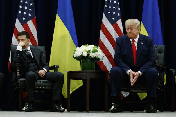 4 intriguing moments from the Trump-Ukraine timeline