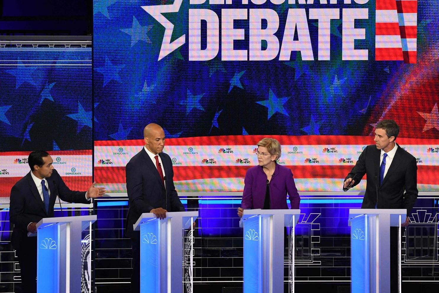 Transcript Democratic Debate Night One
