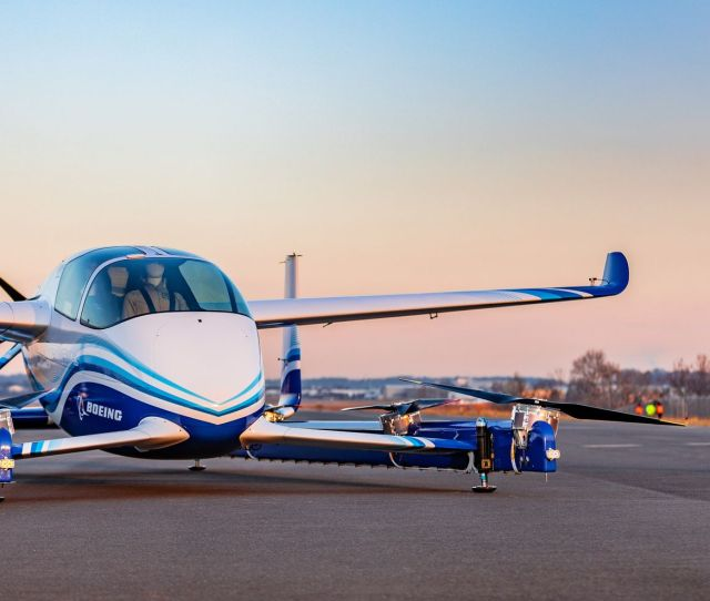 Boeings Prototype Of An Autonomous Air Taxi Rose From The Ground In A Test On Jan 22 In Manassas Va Boeing