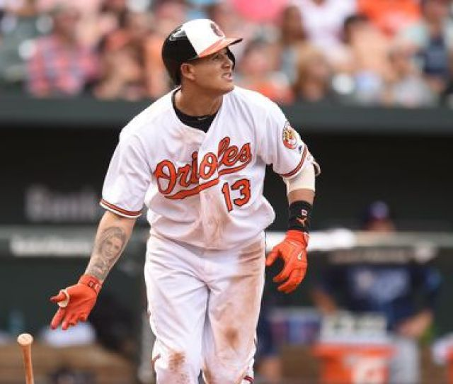 Manny Machado Is A Free Agent After The  Season But The Orioles May Try To Trade Him Before Then Mitchell Layton Getty Images