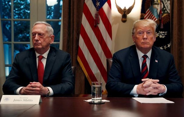 As Mattis was criticizing Trump for being unwilling to unify the country, Trump was proving him right