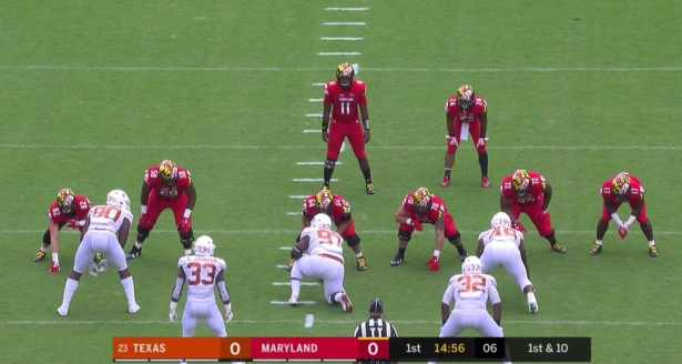 Image result for maryland football first play