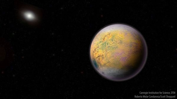 New dwarf planet spotted at the very fringe of our solar ...