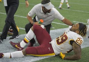 R7EFZZSCMM4CDAEKE5LIDEOD6I - Redskins are getting frustrated after a rash of season-ending injuries