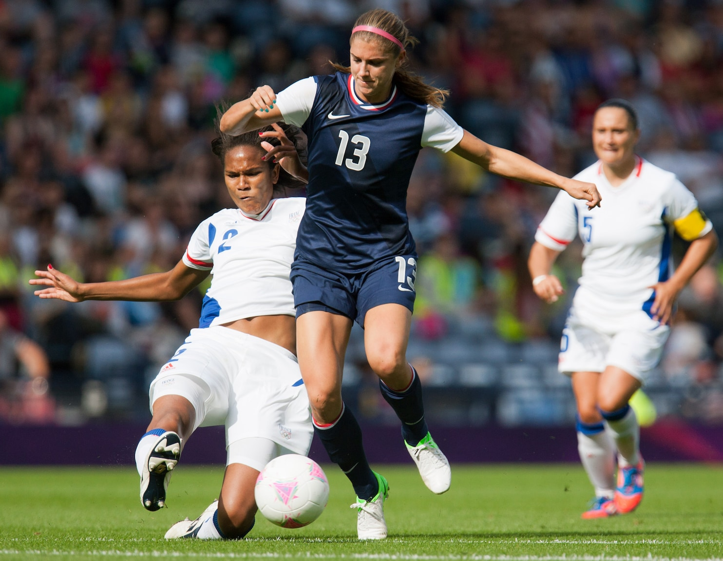 Alex Morgan scores twice to lead U.S. comeback in Olympic ...