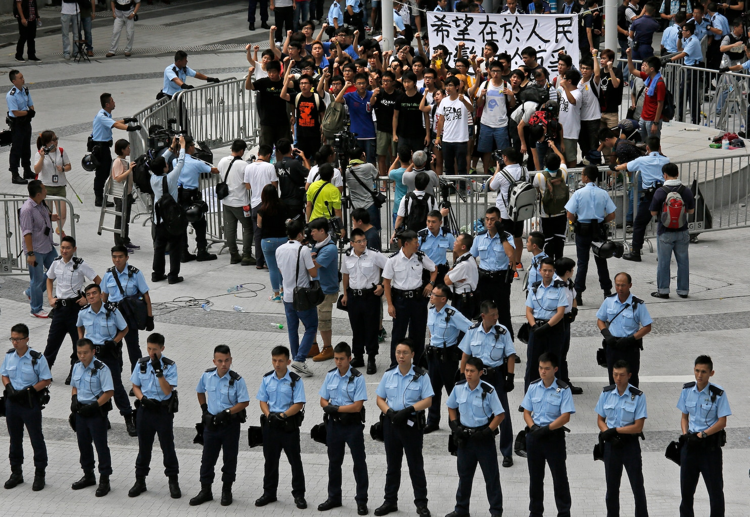 Hong Kong activists start 'Occupy Central' protest - The ...