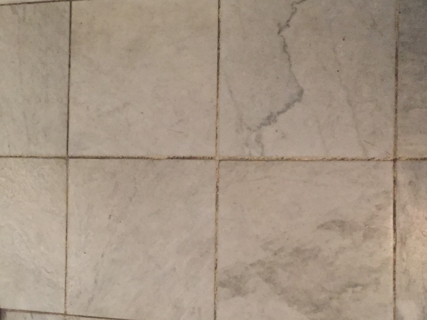 how to clean old dirty grout without