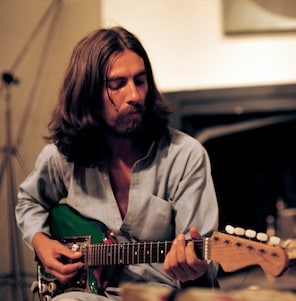 """George Harrison in """"George Harrison: Living in the Material World."""" (Apple Corps Limited/HBO )"""