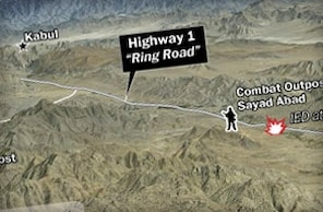 Securing Highway 1 in Afghanistan