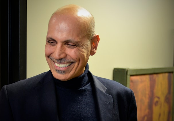 Andy Shallal, owner of Busboys and Poets and recent candidate for D.C. mayor. (Photo by Marvin Joseph/The Washington Post)