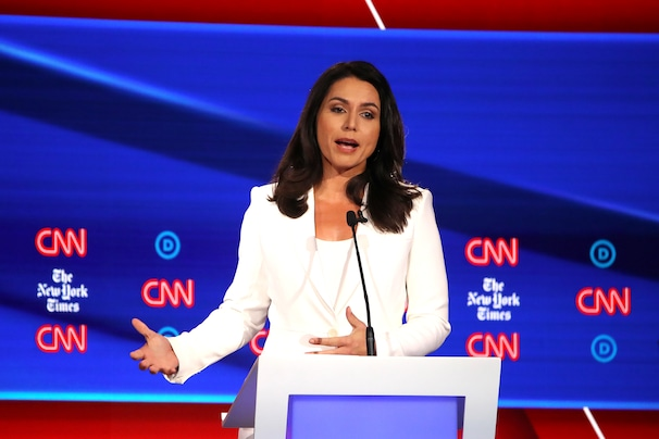Battle lines drawn after Clinton and Gabbard exchange insults