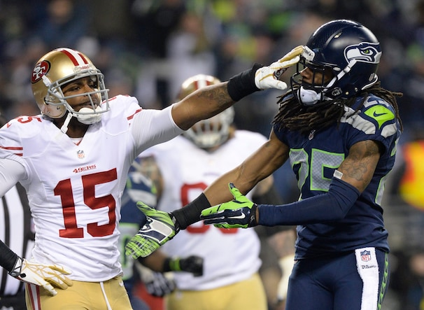 Richard Sherman and Michael Crabtree