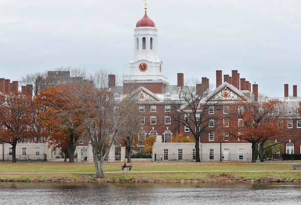 In this Nov. 13, 2008 file photo, the campus of Harvard University in Cambridge, Mass. is seen. Harvard University officials say Thursday, Sept. 22, 2011 that its largest-in-the-nation endowment earned a profit of $4.4 billion in fiscal 2011, growing to a robust $32 billion. This marks the second year in a row of strong growth for an endowment that fell by $11 billion to $26 billion during the fiscal year that ended June 2009. (AP Photo/Lisa Poole, file)