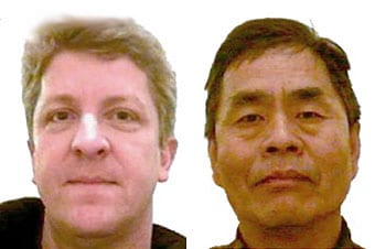 Jeff Garrard, 49, of Clarksburg, and Sung Duk Oh, 68