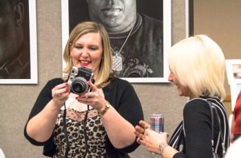 Crisandra Welch shares a laugh with Lauren Slusarz