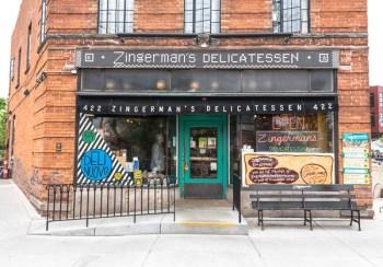 Front of Zingerman's Delicatessen