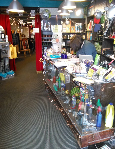 Counter of the 826's retail store