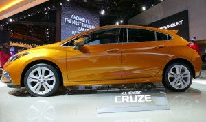 The new 2017 Chevy Cruze.