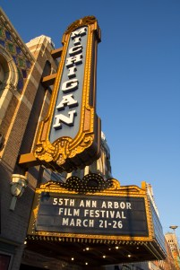 The 55th Ann Arbor Film Festival ran from March 21-26 2017 one screening location was at the Michigan theatre. The festival attracted over 10,000 people to Ann Arbor. Download permissions