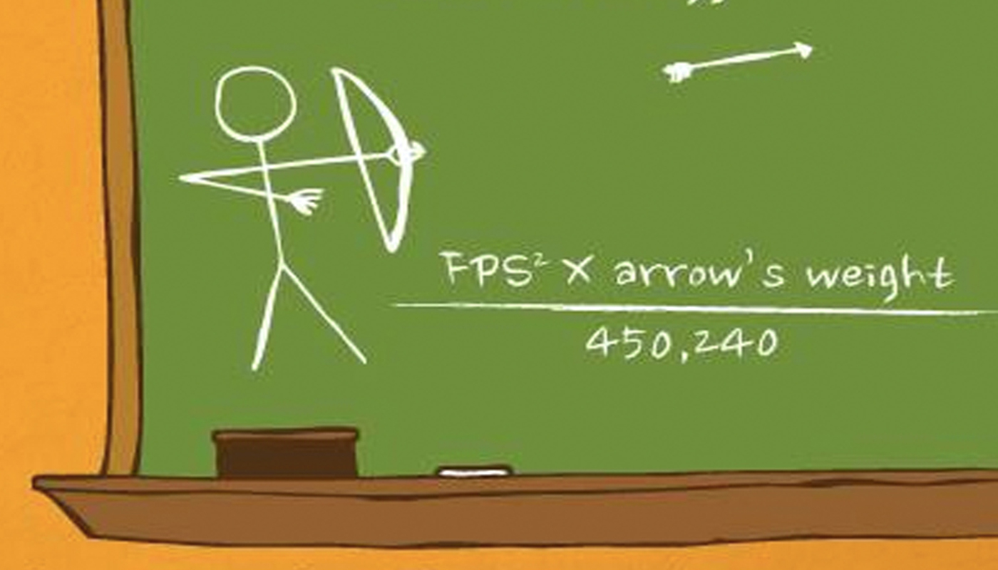 How To Calculate The Kinetic Energy Of Your Arrow