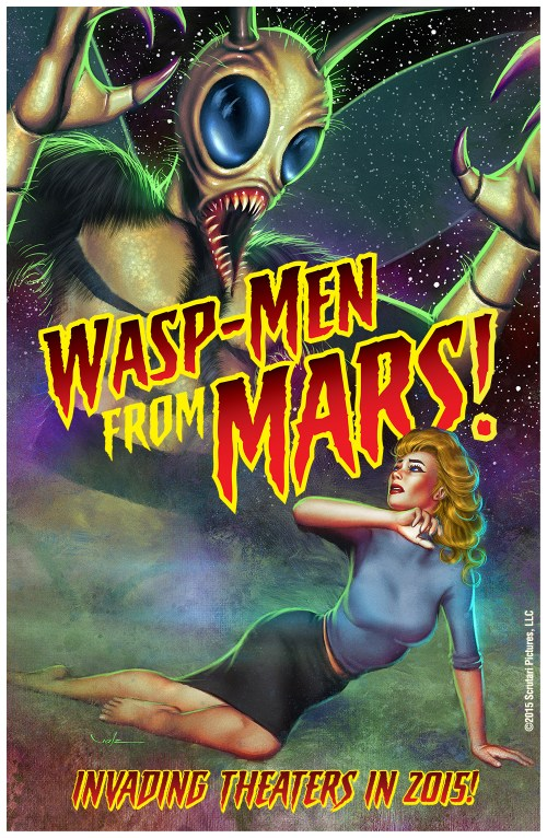 Wasp-Men From Mars! Teaser Poster