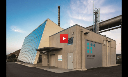 Video – H2FUTURE Pilotanlage geht in Betrieb