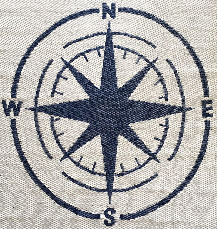 Bild Kompass WASSER und KUNST Navigation