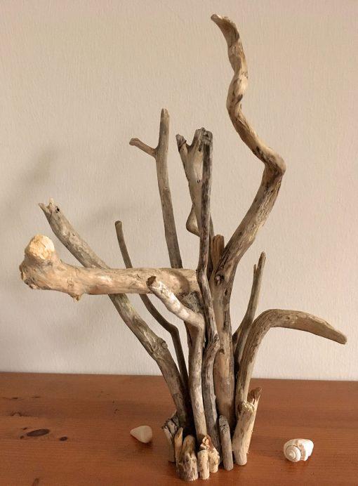 Treibholzbündel Schmuckständer Skulptur