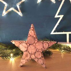 kleiner Stern aus Treibholz